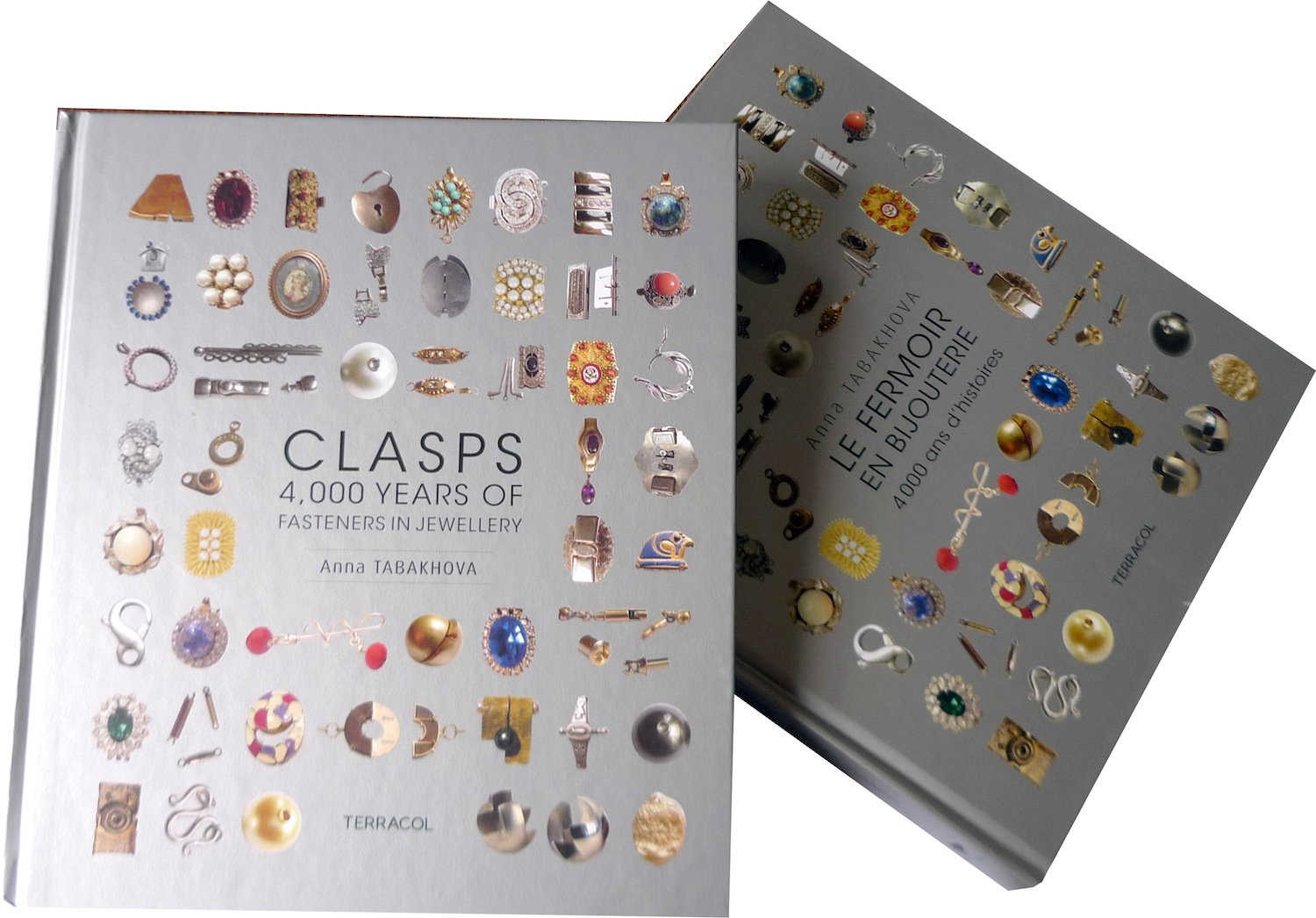 Both books on clasps, French and English, by anna tabakhova