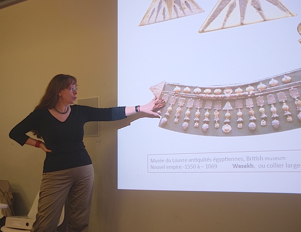 Egyptian clasps for multi strands necklaces, history of clasps by anna tabakhova, Paris