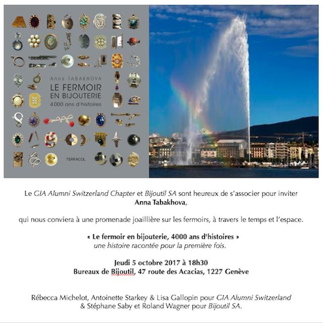 Genève, conférence
