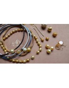 GOLD clasps and necklaces