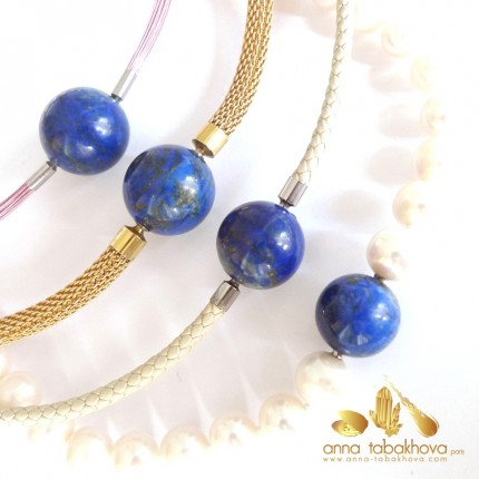 Lapis-Lazuli InterChangeable clasp, choose your size, price for one clasp (necklaces sold separatly)