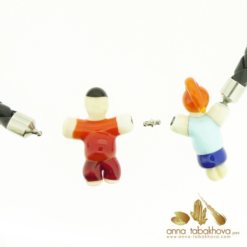Fancy Child Murano Venitian glass as interChangeable Clasp (one for sale)