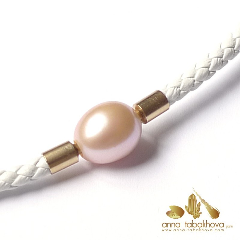 12 mm Pink China Pearls InterChangeable Clasp