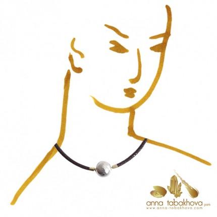4 mm Black Stingray InterChangeable Necklace