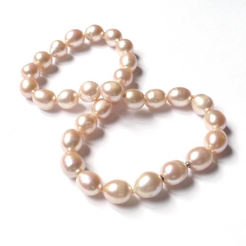 PINK Pearl InterChangeable Necklace with clasp