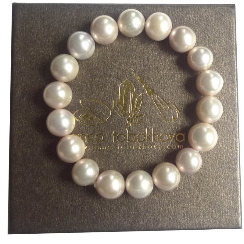 Bracelet in Pink Pearl as you will get it