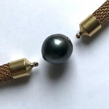 14,5mm-Tahiti pearl...