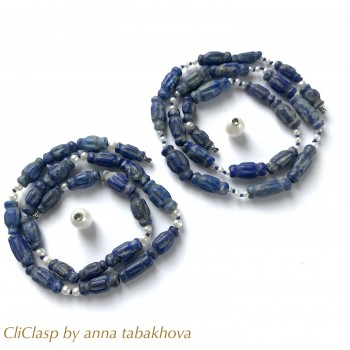 Double Lapis and Pearls...