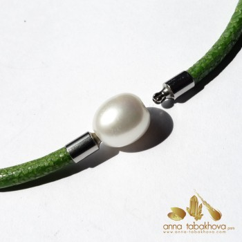 12 mm White China Pearl as...
