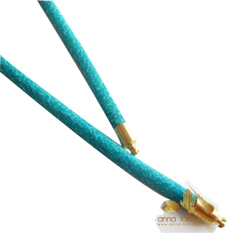 4 mm turquoise Stingray InterChangeable Necklace